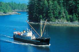 Coastal Cruising Adventures off Vancouver Island BC with the MV Uchuck III