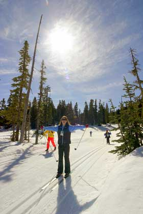 Photo courtesy Mount Washington Resort Caption: Mount Washington's Olympic focus is on nordic trails and facilities, which bodes well for young athletes developing their nordic skiing skills.