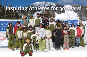 Athletes at Mount Washington