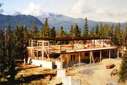 Day Lodge construction