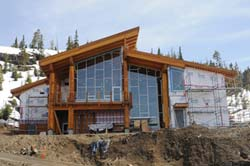 Mountain Sports Centre on Mount Washington, BC