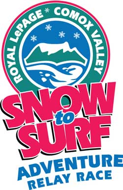 Royal LePage Comox Valley Snow to Surf Adventure Team Relay