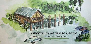 Proposed Emergency Services Building, Mt Washington, Vancouver Island, BC, Canada