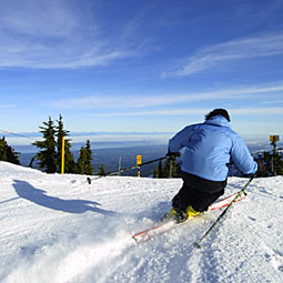 Advanced skiers and boarders anticipate access to 'The Outback,' advanced terrain in the McKay Lake area.