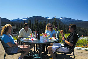 Summer visitors to Mount Washington enjoy hospitality, special events and the spectacular scenery.