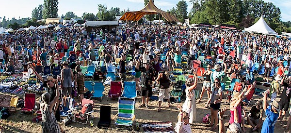 Vancouver Island MusicFest takes places annually in early July.
