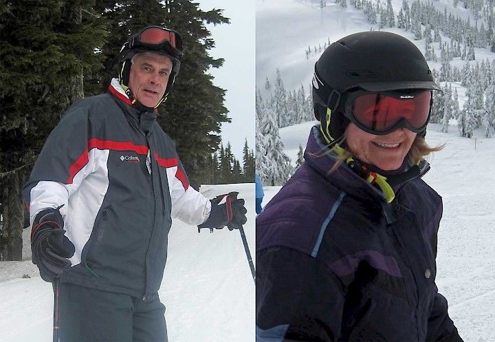 Avid skiers, Tom & Heather Presnail enjoy living and working at Mount Wasahington Alpine Resort.