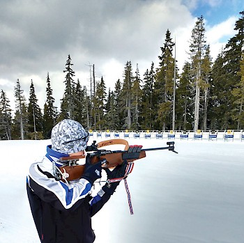 The Vancouver Island Biathlon Club has a world-class biathlon facility at Mount Washington.