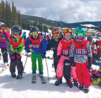 The Rio Tinto Nancy Greene Ski League is the 'FUNdamental' stage of ski racing for children.